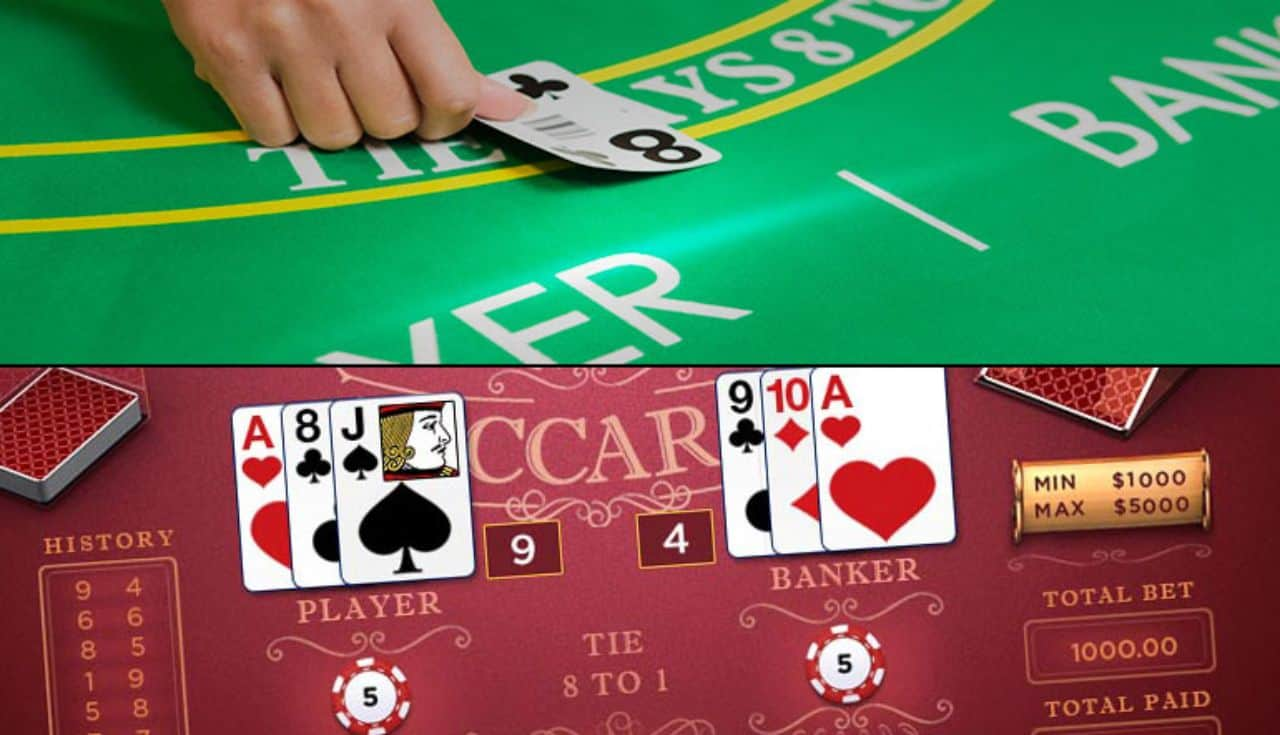 Baccarat possible options