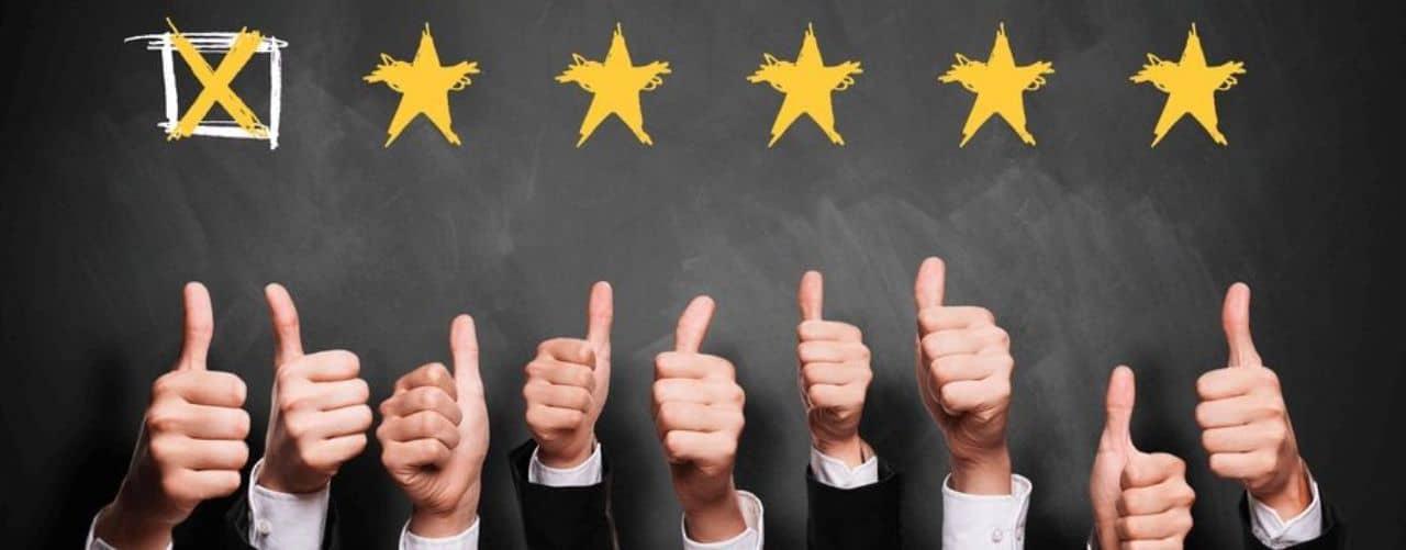 Star rating for online casinos