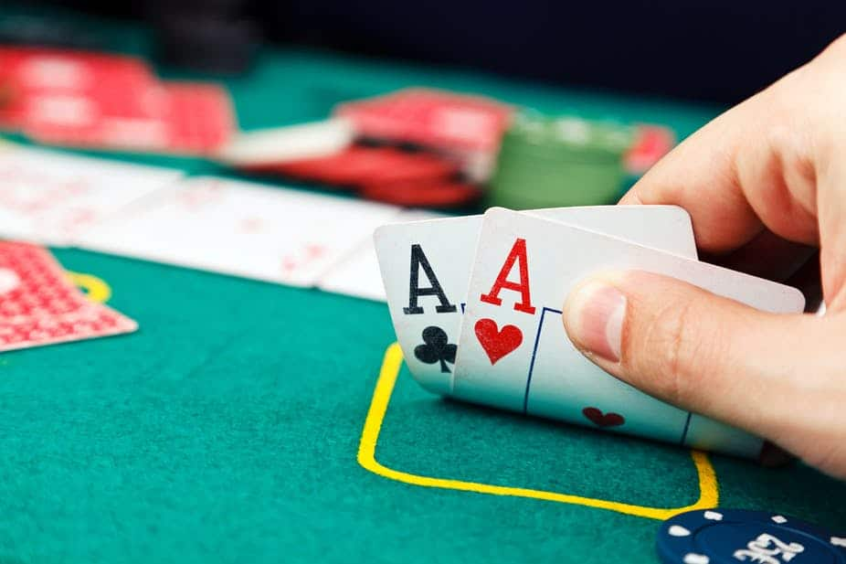 Aces in Texas Holdem Poker