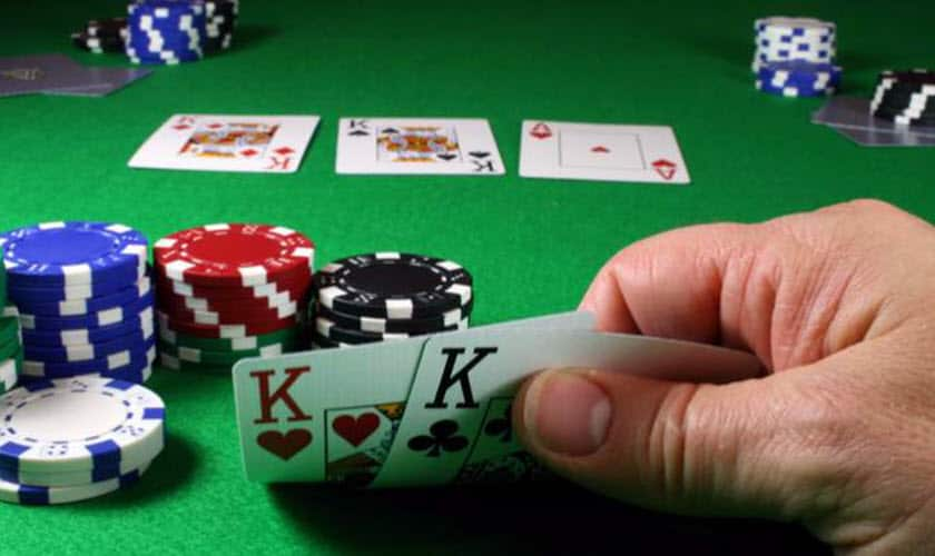 Texas Holdem Poker - four of a kind