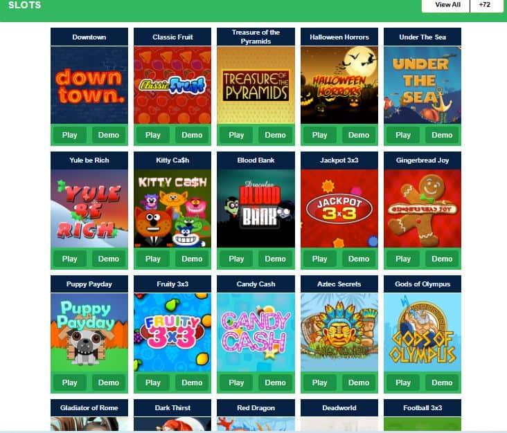 LionsBet casino slot games