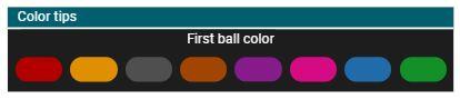 BonanzaBallz first ball color bet