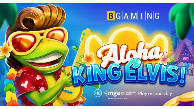 Aloha King Elvis slot game