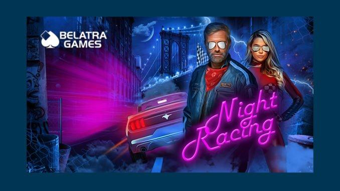 Night racing slot game