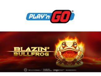 Blazin bullfrog slot game